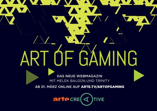 Art Of Gaming Arte Startet Neues Webmagazin Zum Thema Games