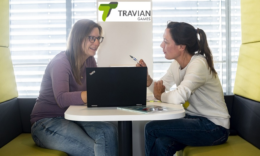Melanie Kohwagner (left), HR Team Lead and Business Partner and Geraldine Feidner, Senior HR Business Partner at Travian Games