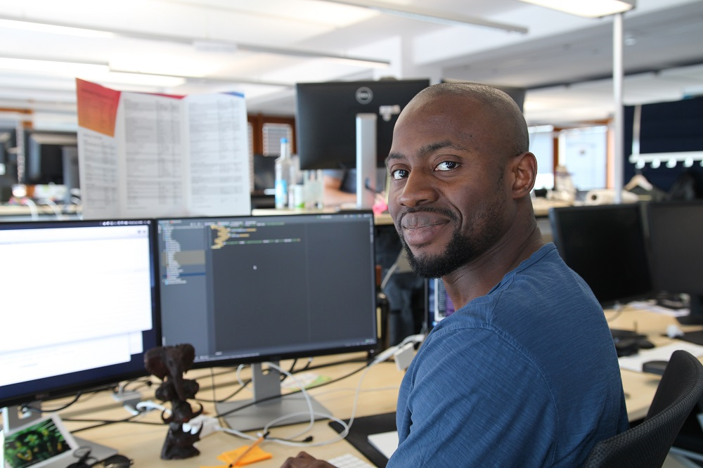 Omoloro appreciates his goal-oriented work and the great company culture at InnoGames